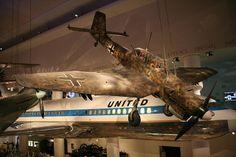 Ju 87 N.º 5954 en el Museum of Science and Industry, Chicago.