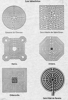 For spiritual health - labyrinths
