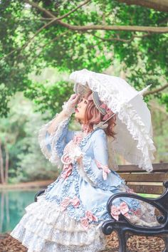 💞Beautiful Lolita dressing for my effeminate Boyfriend💞 Harajuku Fashion, Kawaii Fashion, Cute Fashion, Asian Fashion, Girl Fashion, Estilo Lolita, Mode Alternative, Alternative Fashion, Gothic Lolita Fashion