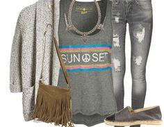 Wenn es mal kälter werden sollte ♥ Hier kaufen: http://stylefru.it/s861674 #hippie #style #woarm #grau