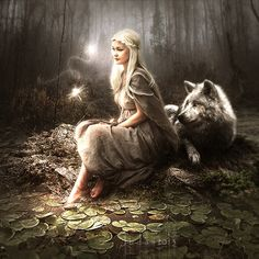 ideas for fantasy art wolf thalia Fantasy World, Dark Fantasy, Character Inspiration, Character Art, Images Esthétiques, Wolves And Women, Wolf Love, Wolf Spirit, Fairy Art