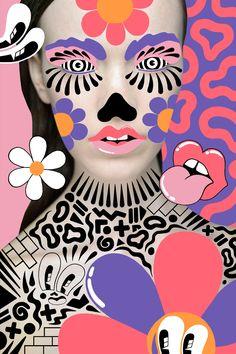 Interview: Hattie Stewart reveals her playful approach to creating super fun, bright art - Digital Arts