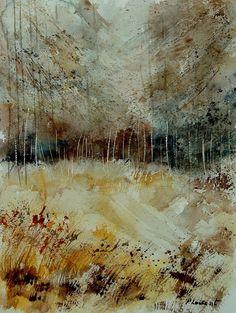 Pol Ledent - watercolor 90907222