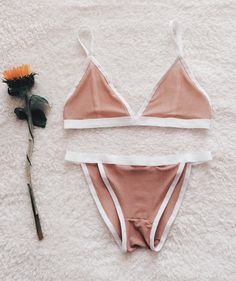 Where to buy the most stylish bralettes to wear with any outfit at @Stylecaster | Nude Mesh Lingerie Set, $35.99; at Etsy store BARElyThereIntimates