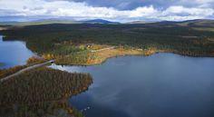 Jerisjärvi lies to the north of Akasjärvi, right next to Pallas-Yllästunturi National Park, in Finnish Lapland. Image courtesy of Visit Finland: www.visitfinland.com