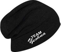 "Team Yeshua Acrylic Knit Slouch Beanie 11 3/4"""