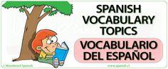 Spanish Vocabulary Notes and Lists - Vocabulario Español by Woodward Spanish Spanish Basics, Ap Spanish, Spanish Class, Spanish Lessons, How To Speak Spanish, Learning Spanish, Learning Resources, Spanish Vocabulary, Grammar And Vocabulary