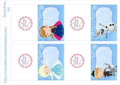 Mamá Decoradora: Kit imprimible Frozen Gratis Frozen Birthday Party, Frozen Party, 4th Birthday, Birthday Parties, Frozen Frozen, Frozen Dessert Table, Frozen Desserts, Party Printables, Free Printables