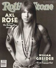 love the 80's Axl  He was so hot back then.  Now, not so much.