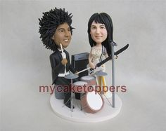 Check out this item in my Etsy shop https://www.etsy.com/listing/208686562/wedding-cake-topper-custom-cake-toppers