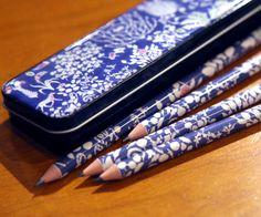 Every desk needs some #LibertyPrint pencils
