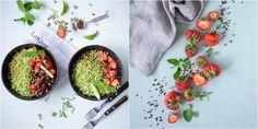 Vanløse blues.....: Sommersalat med jordbær & lakrids