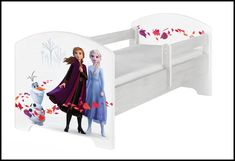 Disney children's bed Frozen II – Kiddymill Disney Frozen, Frozen 2, Magical Room, Childrens Desk, Mattress Frame, Bed With Drawers, How To Make Bed, Toy Boxes, Kid Beds