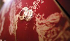 Détail de la Collection Florentin - Copyright Interior's France Copyright, Artisanal, Class Ring, Diamond Earrings, France, Collection, Jewelry, Dresser, Toile