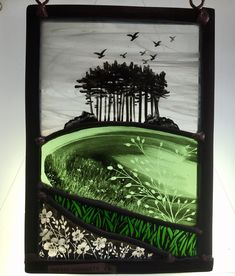 Stained Glass panel by Annie Rie Modern Stained Glass, Stained Glass Paint, Stained Glass Birds, Stained Glass Designs, Stained Glass Panels, Stained Glass Projects, Stained Glass Patterns, Leaded Glass, Mosaic Art