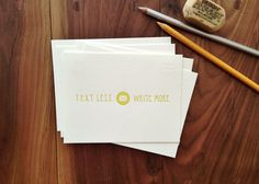 A little inspiration via @ink Meets Paper for all of the thank you notes in your future!