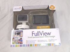 "Summer Infant Full View 5"" Pan, Scan & Zoom Video Monitor #SUMMERINFANT"
