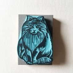 Grumpy Face, Disney Cats, Fabric Stamping, Stationery Pens, Ink Pads, Hand Carved, Carving, Cute, Artwork