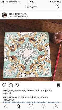 Tile Art, Tiles, Glazes For Pottery, Decorative Tile, Modern Calligraphy, World Cultures, Bookbinding, Graphic Art, Art Photography