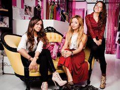 Cuca Díaz y Paola y Pamela Wong son las creadoras de Pink Magnolia, una marca mexicana de diseño de ropa que está creciendo de forma sólida y que incluso vende su mercancía en tiendas departamentales.