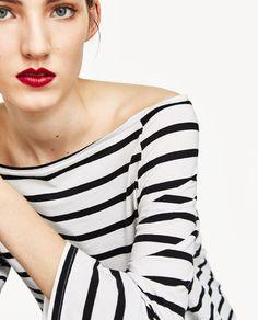 Hình ảnh 4 / ÁO PHÔNG HỞ VAI từ Zara