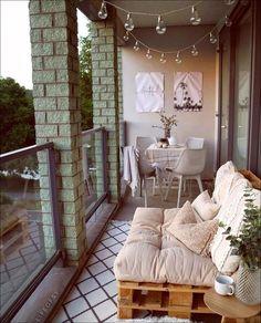 small balcony decor ideas 1 - Home Design - Balcony Furniture Design Small Balcony Design, Small Balcony Decor, Outdoor Balcony, Balcony Privacy, Balcony Railing, Balcony Ideas, Apartment Balcony Decorating, Budget Home Decorating, Apartment Balconies