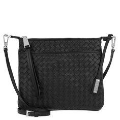 Abro Piuma Braided Crossbody Bag 2 Black/Nickel i svart Satchel, Crossbody Bag, Black Cross Body Bag, Messenger Bag, Braids, Bang Braids, Cornrows, Braid Hairstyles, Plaits