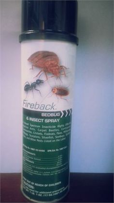 Fireback #Bedbug and Insect Spray. #pestcontrol