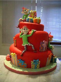 christmas cake Inspirations 17