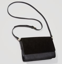 The minimalist design of this smart crossbody allows focus to fall on its rich… Minimalist Bag, Minimalist Design, Minimalist Fashion, Satchel, Crossbody Bag, Fall Bags, Stitch Fix Stylist, Types Of Bag, Purse Styles