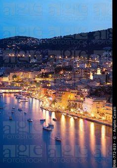 Villefranche sur Mer, Alpes Marítimos, Provenza, Costa Azul, Costa Azul, Francia, Mediterráneo, Europa