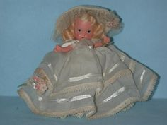 ID Number: 186   Doll Name: Sunday   Box Label: The Child that was Born on the Sabbath Day is Bonnie and Blythe and Good and Gay.   Series: Dolls of the Day Series   General Comments:  Sunday typically wears white or sometimes pastels.