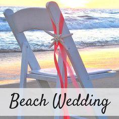 Starfish Chair Decoration for a Beach Wedding | Beach Wedding Decor | Beach Ceremony | Beach Reception #ad #beachwedding #beach #chairs #weddings #weddinginspiration #weddingday #weddingdecor #weddingdecorations