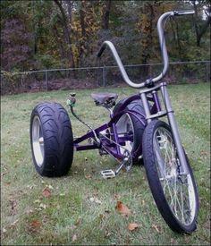 Triciclos (Trikes) muito especiais...