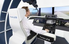 A cockpit built around the pilot. Thales Delivers aerospace innovation.