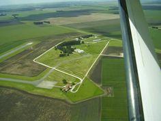 panorama:    Linda imagen do aeroporto de Necochea. www.aero...