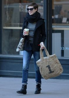 anne-hathaway #coffee #casual https://www.facebook.com/pages/Coffee-Society/651773478236556