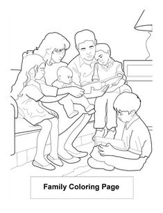 Family Read Book Coloring Page : Coloring Sky Family Coloring Pages, Coloring Books, Kids Reading Books, Online Coloring, Books To Read, Sky, Vintage Coloring Books, Heaven, Heavens