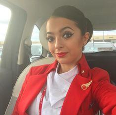 【イギリス】ヴァージン・アトランティック航空 客室乗務員 / Virgin Atlantic Airways cabin crew【UK】 Grace Perry, Virgin Atlantic, Cabin Crew, Flight Attendant, Nurses, Uni, Europe, Glamour, Photo And Video