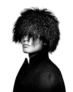 Simonas Pham shot by Platon for Duckie Brown Fall/Winter 2012 campaign.