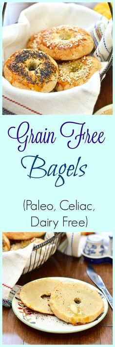 Pure and Simple Nourishment : Grain Free Bagels and Without Grain Cookbook Review -Sub Egg White