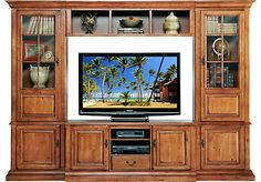 Shop for a Walnut Creek 4 Pc Wall Unit at Rooms To Go. Find Wall Units that will look great in your home and complement the rest of your furniture. #iSofa #roomstogo
