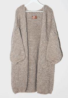 Hendrik Lou Wooly Long Coat