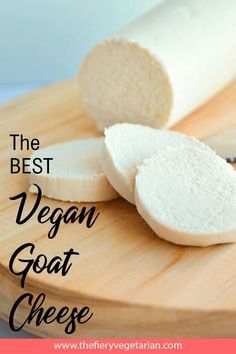 The easiest, creamiest, tangiest, QUICKEST vegan goat cheese recipe, get one of these bad boys ready in an hour and on your table! Easy Vegan Cheese Recipe, Goat Cheese Recipes, Spicy Vegetarian Recipes, Vegan Recipes Easy, Paleo Lunch Box, Veggie Cheese, Gluten Free Recipes For Dinner, Food Now, Taste Buds