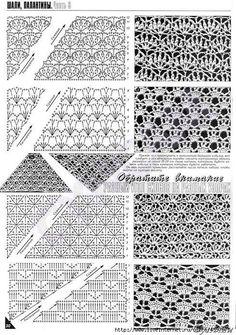 POINTS free crochet graph patterns