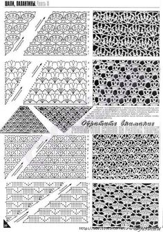 POINTS free crochet graph patterns