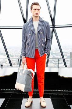 Hardy Amies Spring/Summer 2014 http://mensfashionworld.tumblr.com/post/79171654702