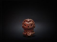 木彫り土偶 9号