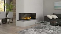 Regency City Series™ Chicago Corner 40 Two Sided Gas Fireplace
