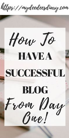 How To Start A Successful Blog That Makes Money From Day One. We all want successful blogs but might not know how. This is effective advice to help you start your blog like a boss.   #blog #howto #successful   How to start a blog  How to start a money making blog